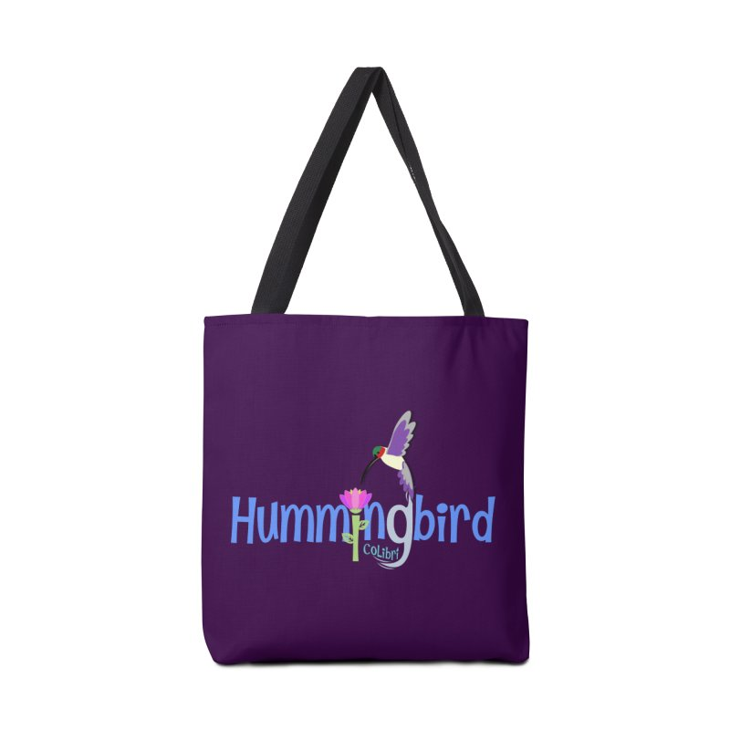 Hummingbird Accessories Tote Bag Bag by PickaCS's Artist Shop
