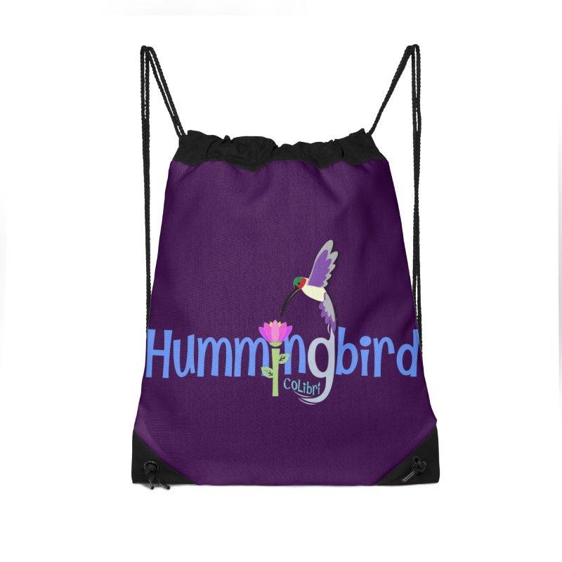 Hummingbird Accessories Drawstring Bag Bag by PickaCS's Artist Shop
