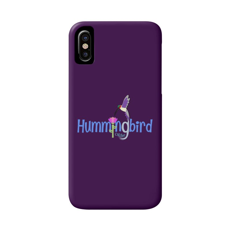 Hummingbird Accessories Phone Case by PickaCS's Artist Shop