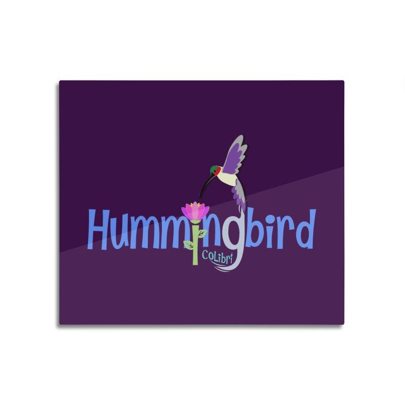 Hummingbird Home Mounted Acrylic Print by PickaCS's Artist Shop