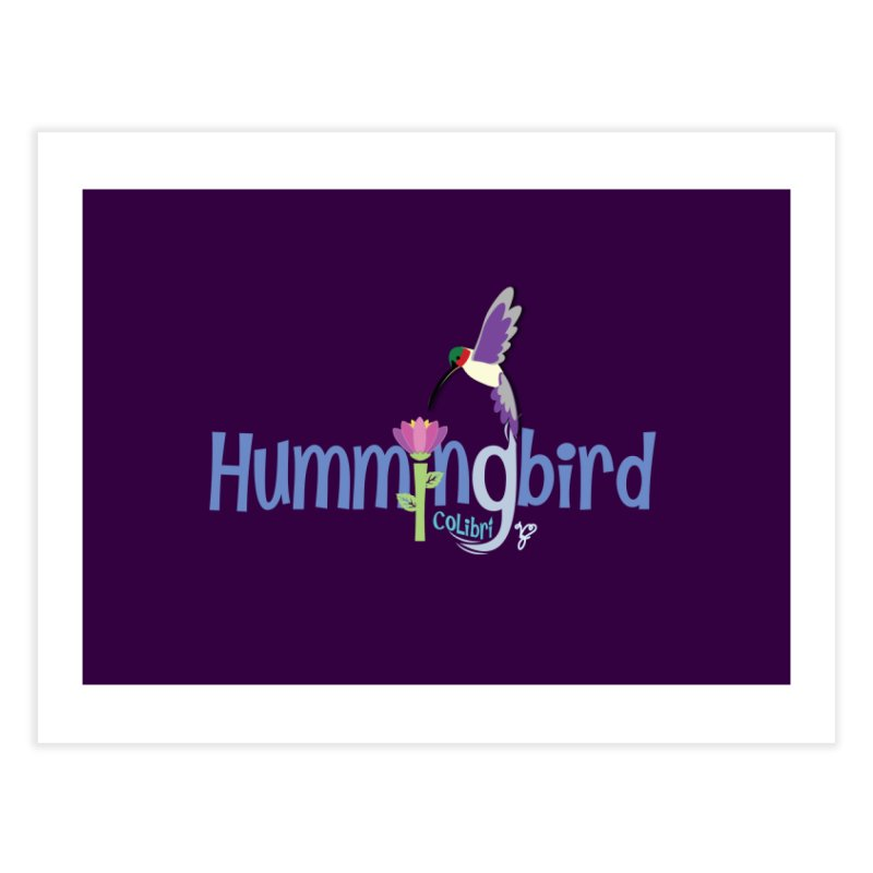 Hummingbird Home Fine Art Print by PickaCS's Artist Shop