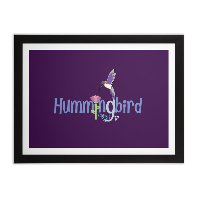 Hummingbird Home Framed Fine Art Print by PickaCS's Artist Shop