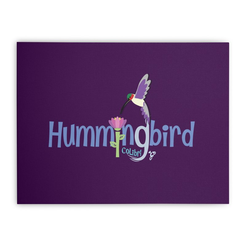 Hummingbird Home Stretched Canvas by PickaCS's Artist Shop