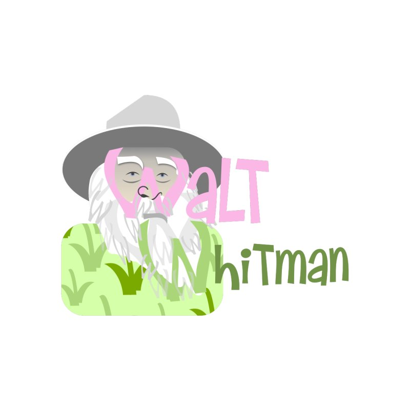 Walt Whitman Men's T-Shirt by PickaCS's Artist Shop