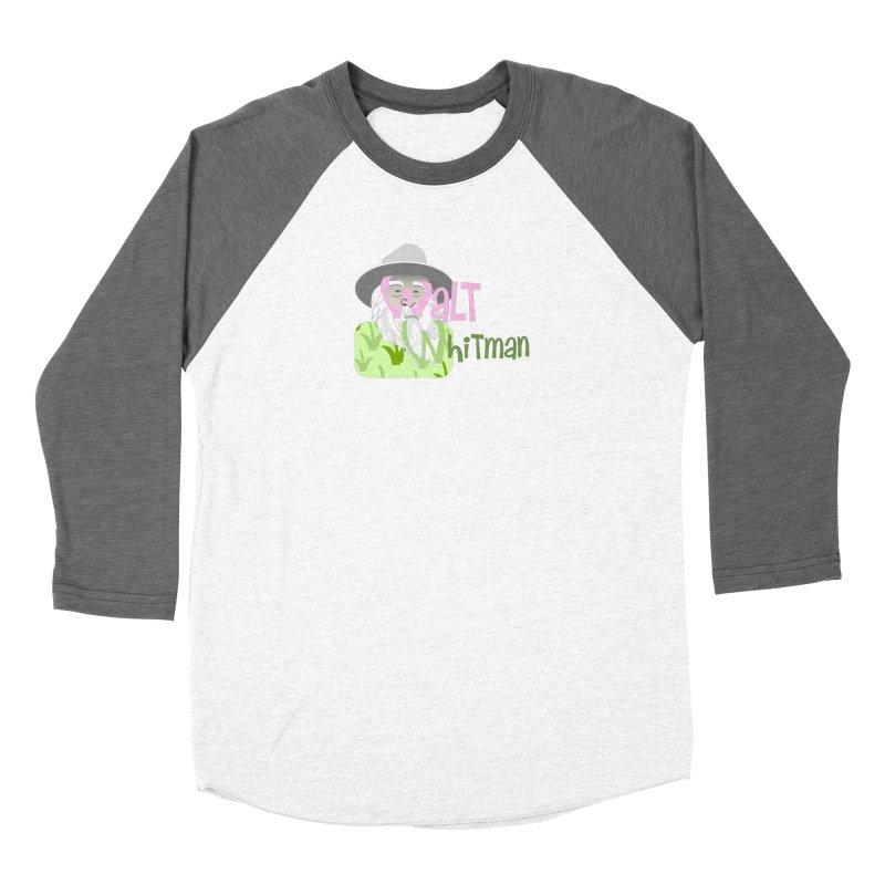 Walt Whitman Women's Longsleeve T-Shirt by PickaCS's Artist Shop