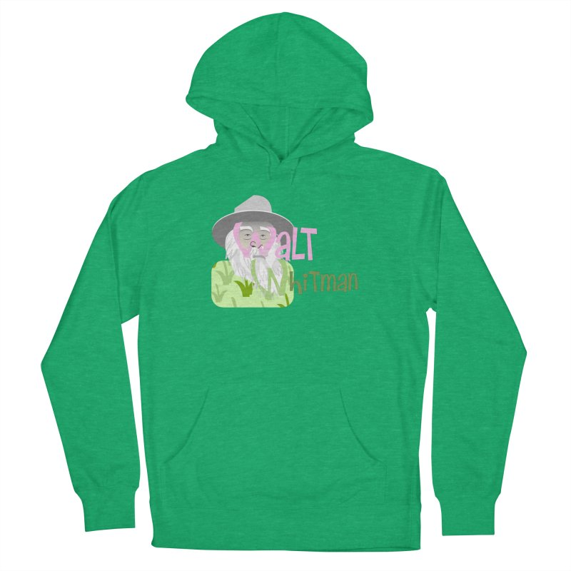 Walt Whitman Women's Pullover Hoody by PickaCS's Artist Shop