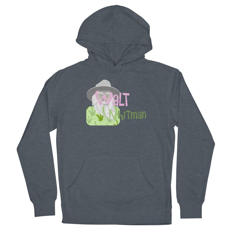 Walt Whitman Women's French Terry Pullover Hoody by PickaCS's Artist Shop