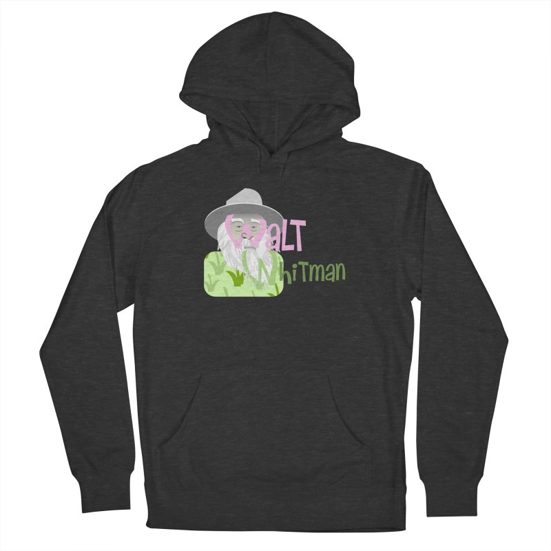 Walt Whitman Men's French Terry Pullover Hoody by PickaCS's Artist Shop