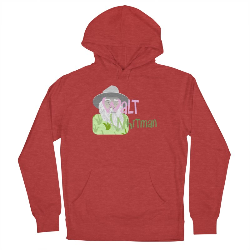 Walt Whitman Men's Pullover Hoody by PickaCS's Artist Shop
