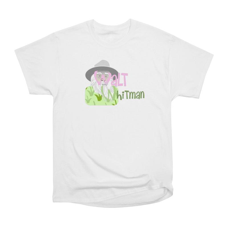 Walt Whitman Men's Heavyweight T-Shirt by PickaCS's Artist Shop