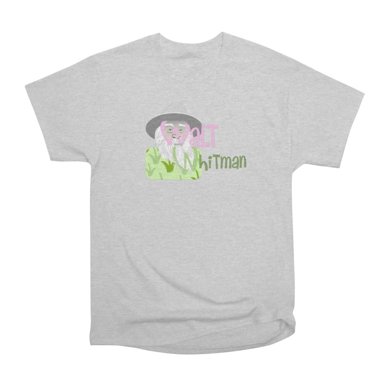 Walt Whitman Women's Heavyweight Unisex T-Shirt by PickaCS's Artist Shop