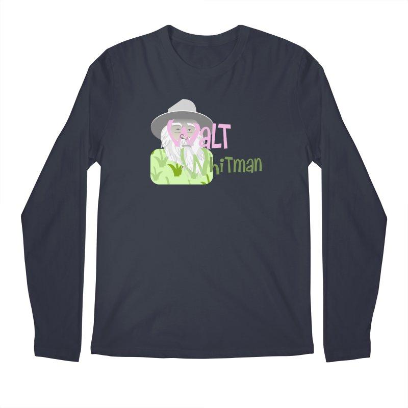 Walt Whitman Men's Regular Longsleeve T-Shirt by PickaCS's Artist Shop