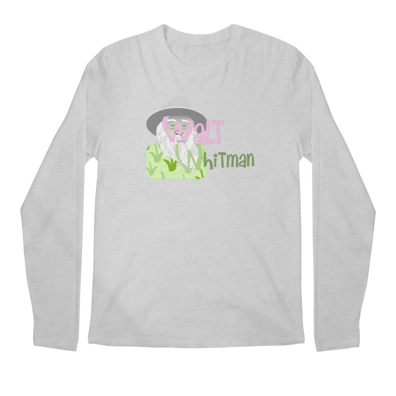 Walt Whitman Men's Regular Longsleeve T-Shirt by PickaCS's Artist Shop