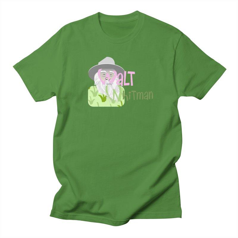 Walt Whitman Men's Regular T-Shirt by PickaCS's Artist Shop