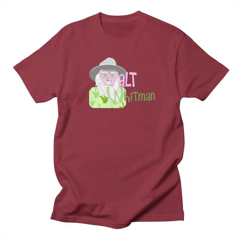 Walt Whitman Women's Regular Unisex T-Shirt by PickaCS's Artist Shop