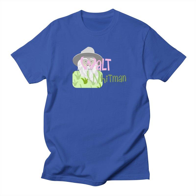 Walt Whitman Men's T-Shirt by PickaCS's Artist Shop