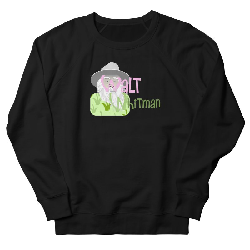 Walt Whitman Women's French Terry Sweatshirt by PickaCS's Artist Shop