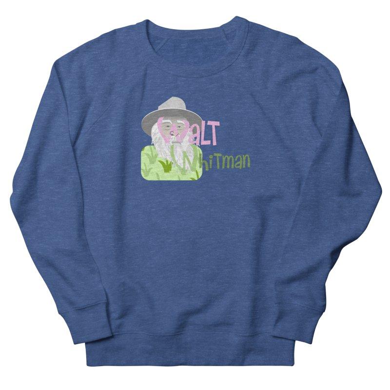 Walt Whitman Men's Sweatshirt by PickaCS's Artist Shop