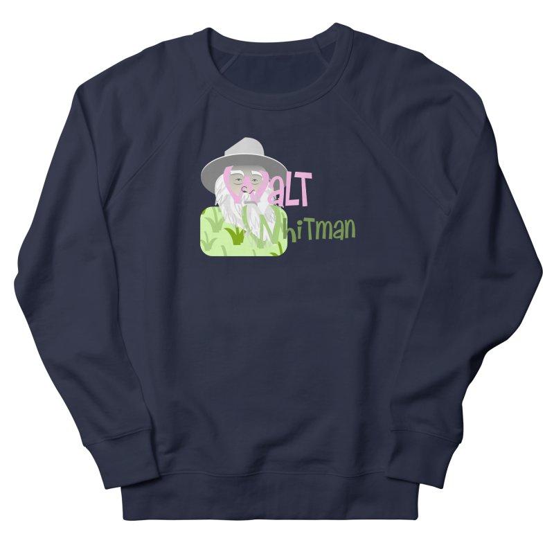 Walt Whitman Men's French Terry Sweatshirt by PickaCS's Artist Shop