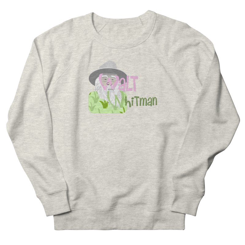 Walt Whitman Men's French Terry Sweatshirt by PickaCS's Artist Shop