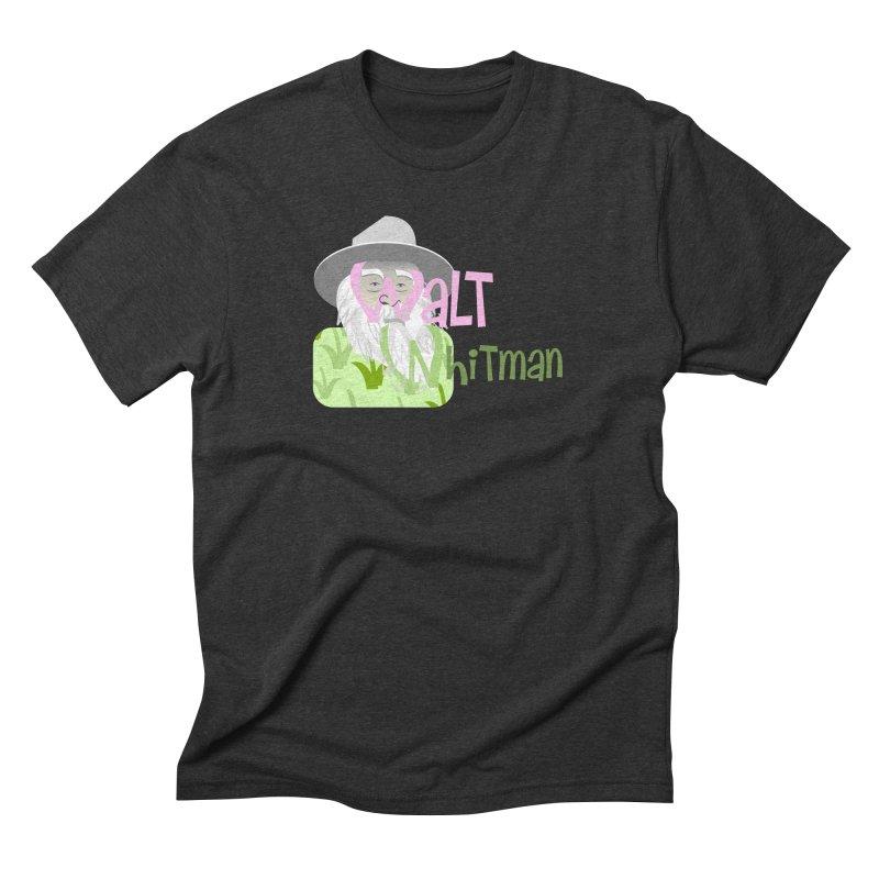 Walt Whitman Men's Triblend T-Shirt by PickaCS's Artist Shop