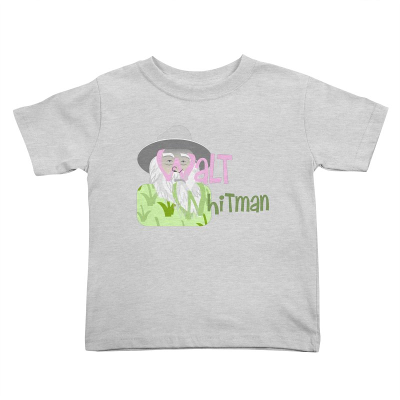 Walt Whitman Kids Toddler T-Shirt by PickaCS's Artist Shop