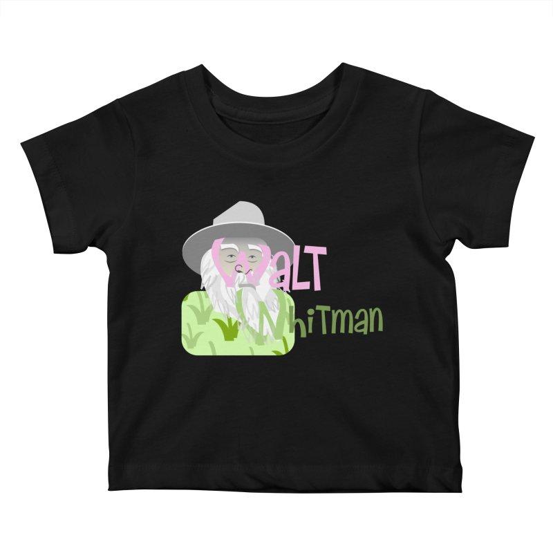 Walt Whitman Kids Baby T-Shirt by PickaCS's Artist Shop