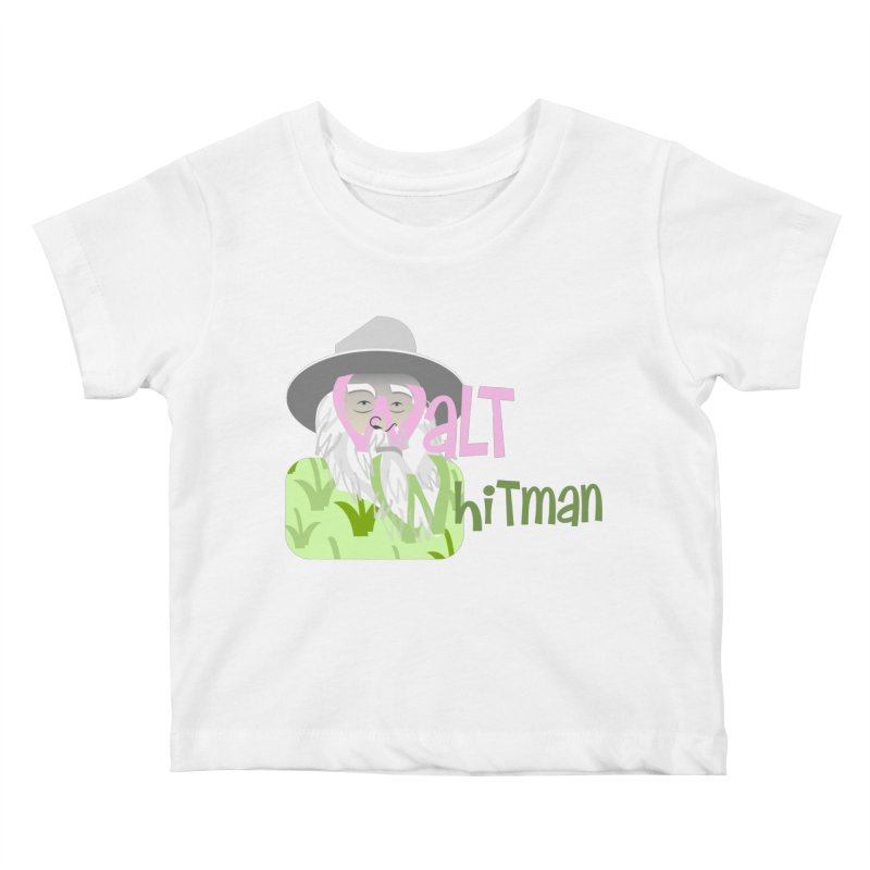 Walt Whitman Kids Baby T-Shirt by PickaCS's Artist Shop