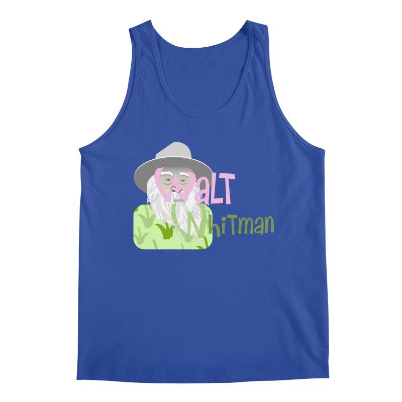 Walt Whitman Men's Regular Tank by PickaCS's Artist Shop