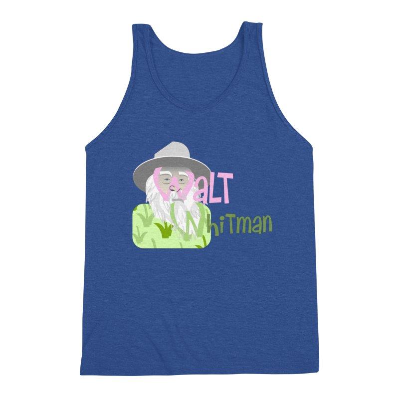 Walt Whitman Men's Tank by PickaCS's Artist Shop
