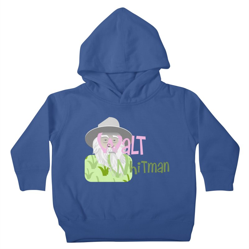 Walt Whitman Kids Toddler Pullover Hoody by PickaCS's Artist Shop