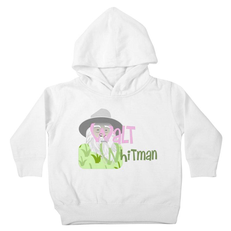 Walt Whitman Kids Toddler Pullover Hoody by PickaCS's Artist Shop
