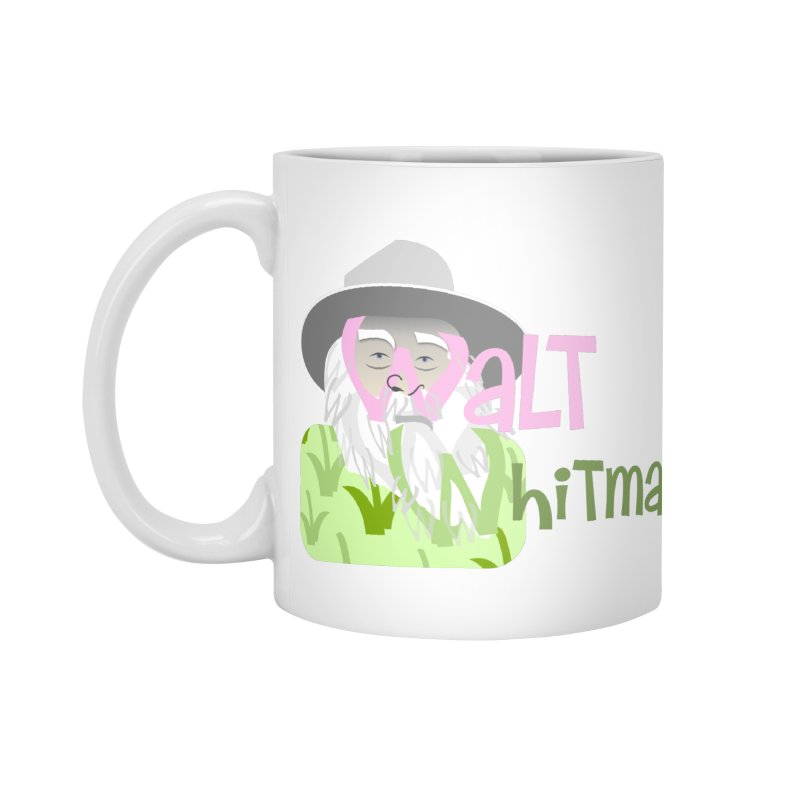 Walt Whitman Accessories Standard Mug by PickaCS's Artist Shop