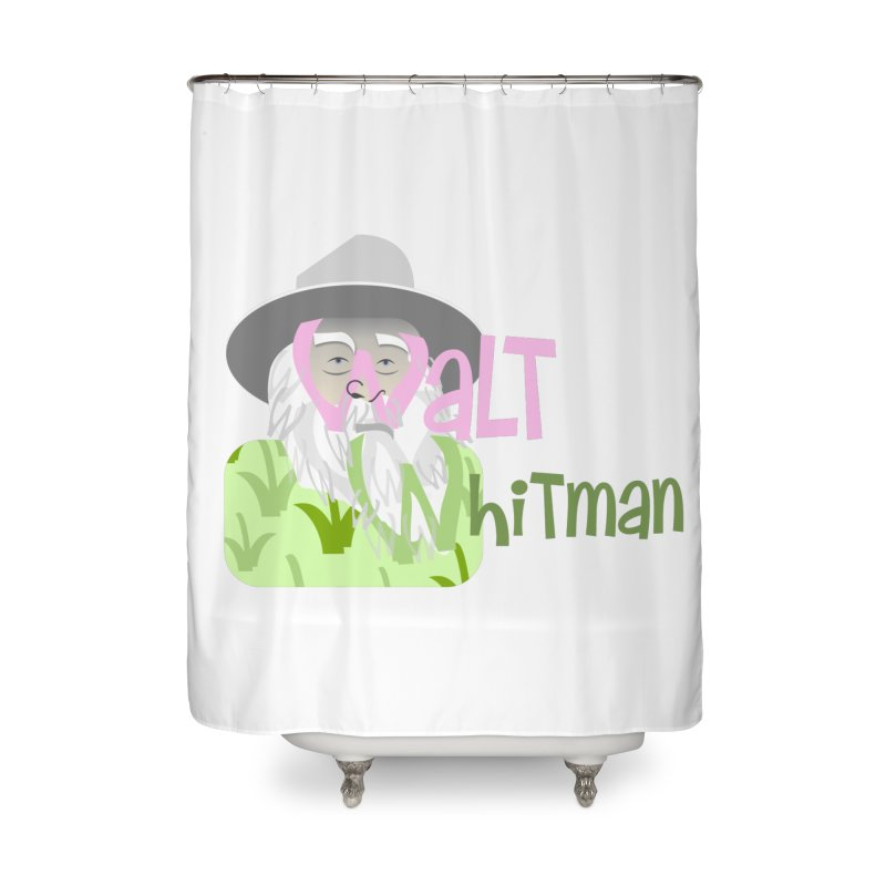 Walt Whitman Home Shower Curtain by PickaCS's Artist Shop