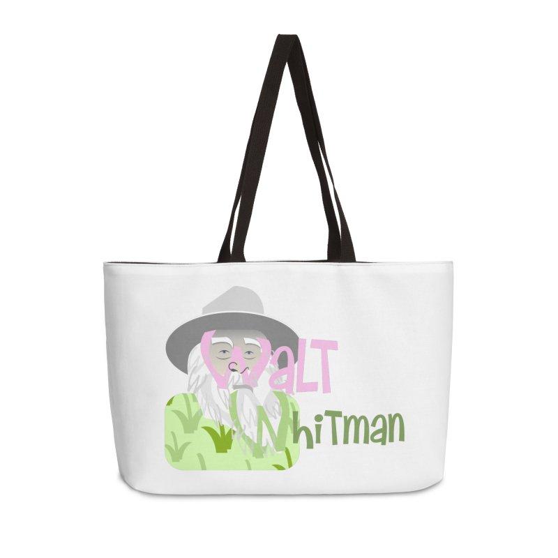Walt Whitman Accessories Weekender Bag Bag by PickaCS's Artist Shop