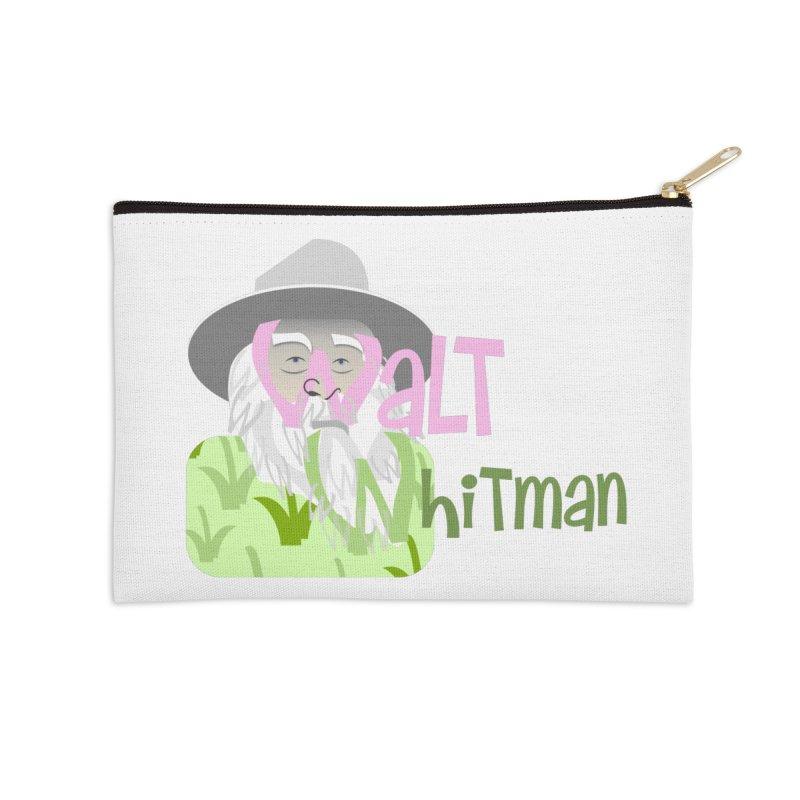 Walt Whitman Accessories Zip Pouch by PickaCS's Artist Shop