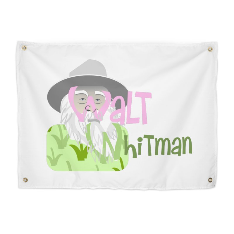 Walt Whitman Home Tapestry by PickaCS's Artist Shop