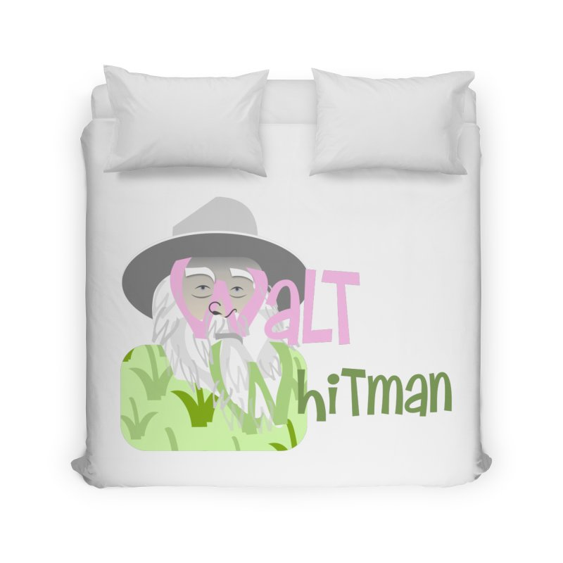 Walt Whitman Home Duvet by PickaCS's Artist Shop