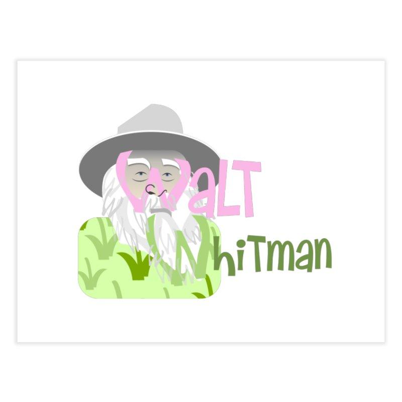 Walt Whitman Home Fine Art Print by PickaCS's Artist Shop