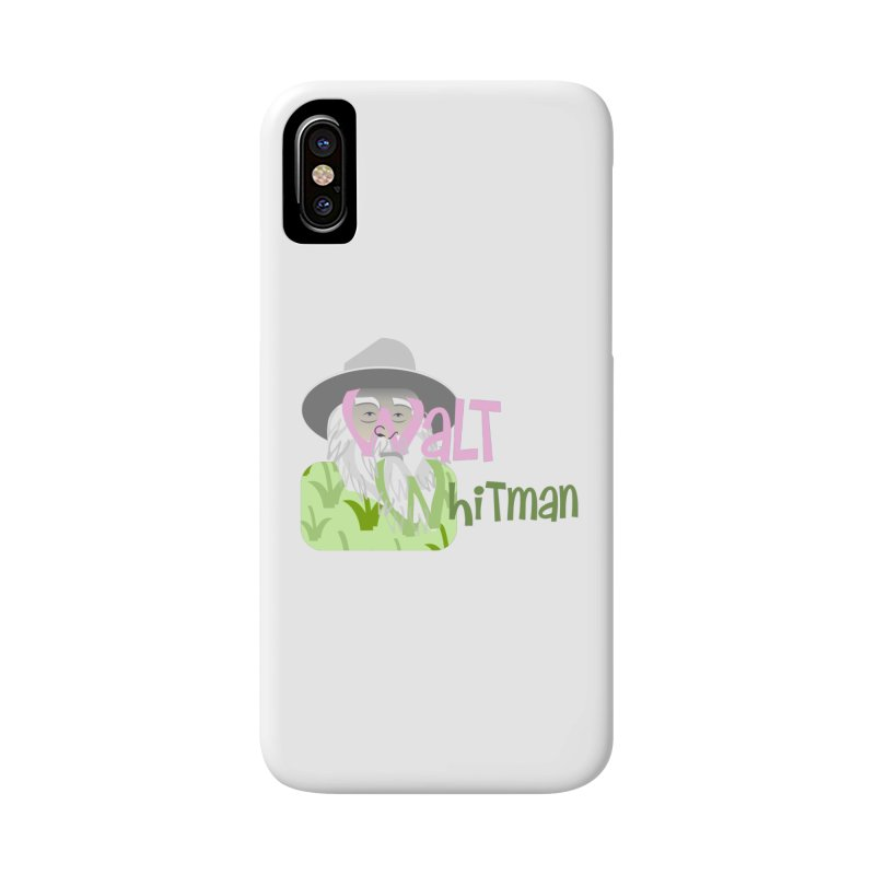 Walt Whitman Accessories Phone Case by PickaCS's Artist Shop