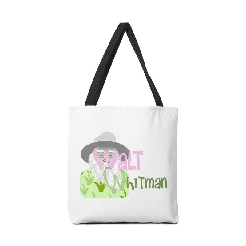 Walt Whitman Accessories Bag by PickaCS's Artist Shop