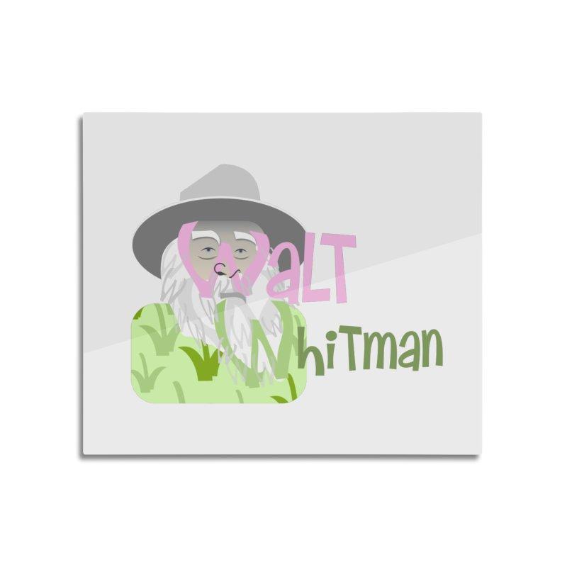 Walt Whitman Home Mounted Acrylic Print by PickaCS's Artist Shop