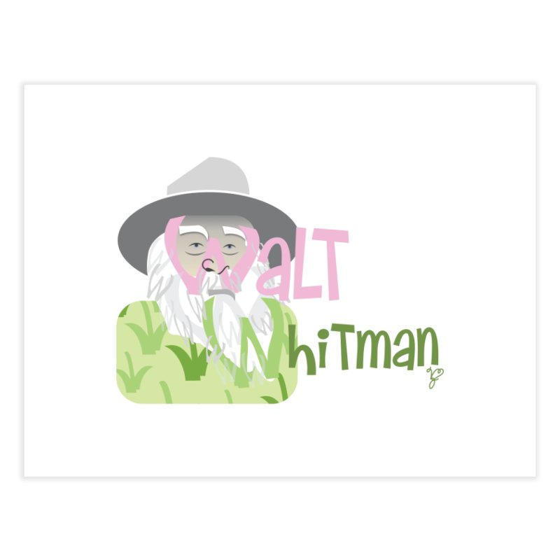 Walt Whitman Home Fine Art Print by PickaCS's Artist Shop