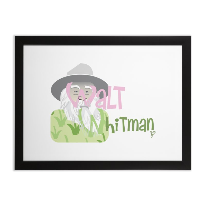 Walt Whitman Home Framed Fine Art Print by PickaCS's Artist Shop