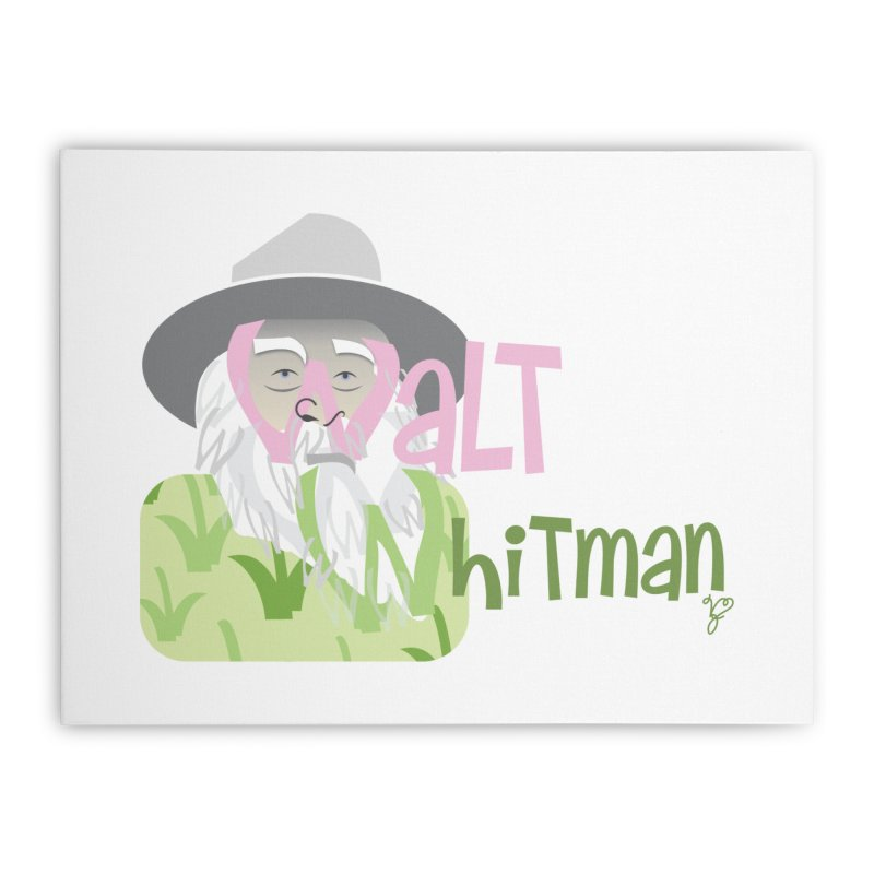 Walt Whitman Home Stretched Canvas by PickaCS's Artist Shop