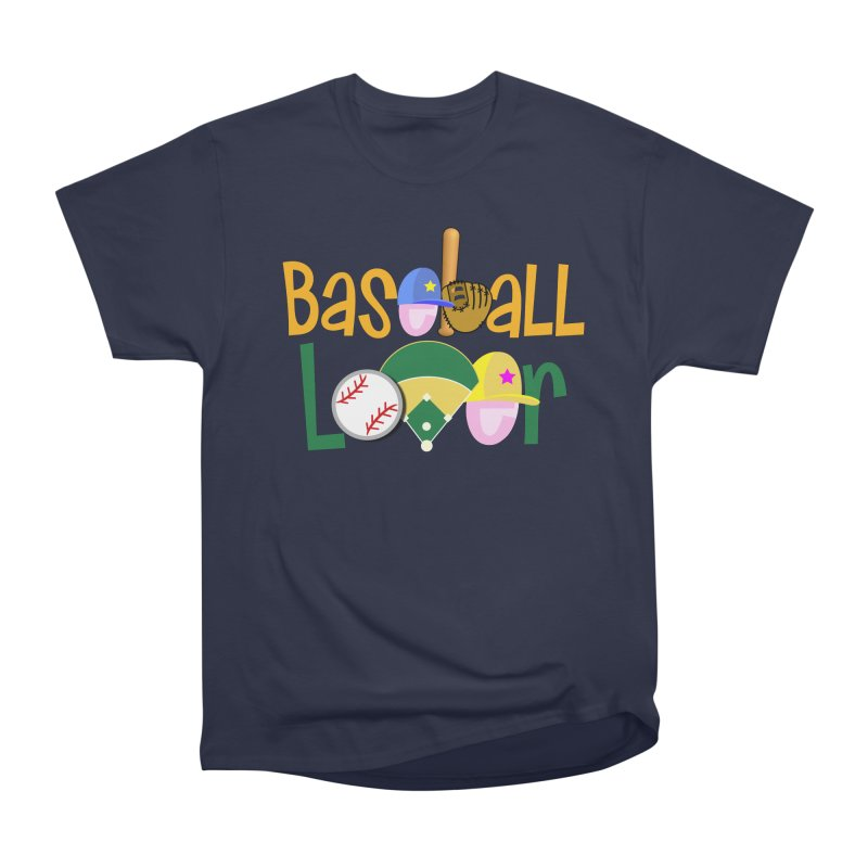 Baseball Lover Men's T-Shirt by PickaCS's Artist Shop