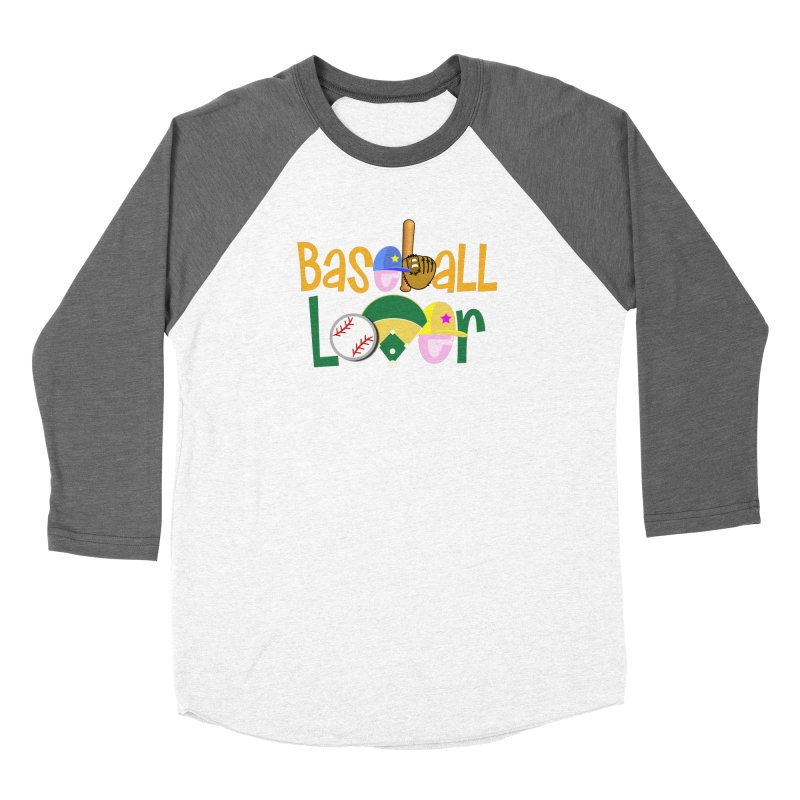 Baseball Lover Women's Longsleeve T-Shirt by PickaCS's Artist Shop