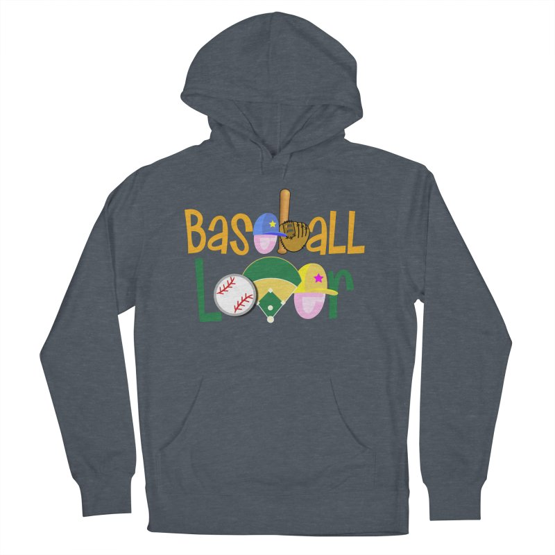 Baseball Lover Women's Pullover Hoody by PickaCS's Artist Shop