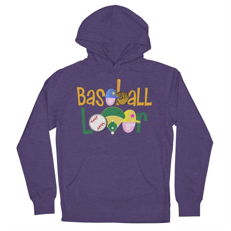 Baseball Lover Men's Pullover Hoody by PickaCS's Artist Shop