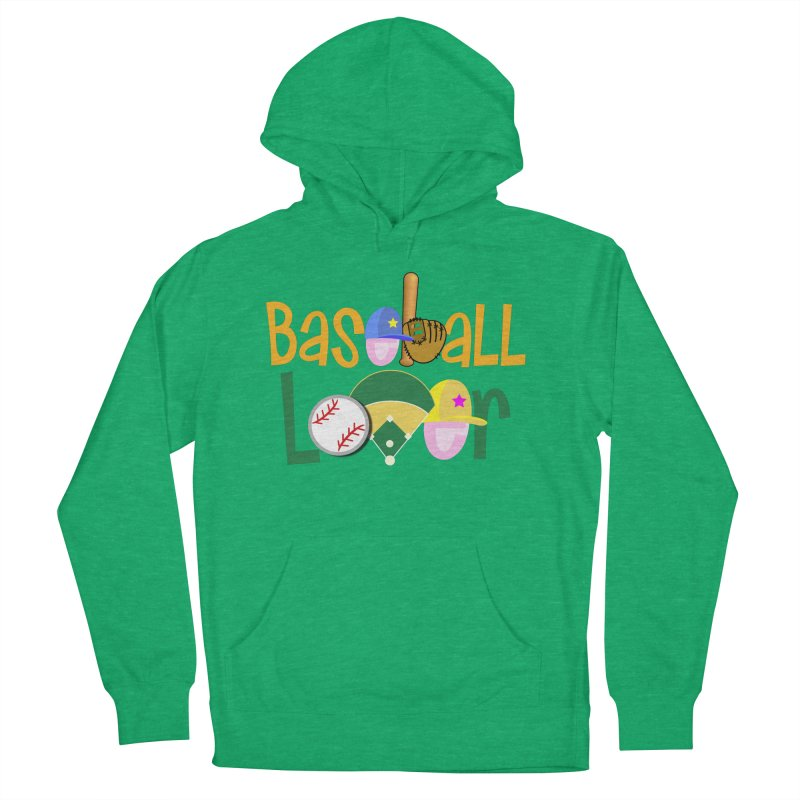 Baseball Lover Men's French Terry Pullover Hoody by PickaCS's Artist Shop